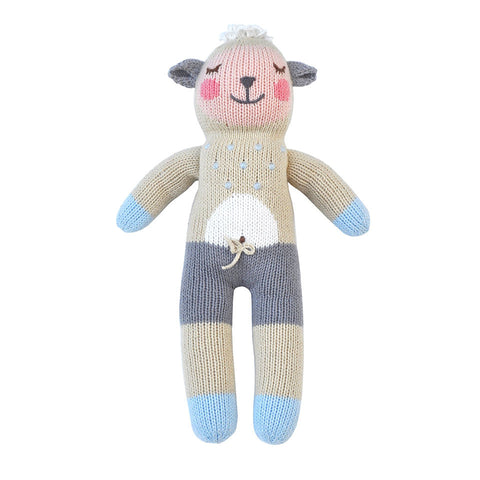 Blabla Wooly the Lamb Knit Doll