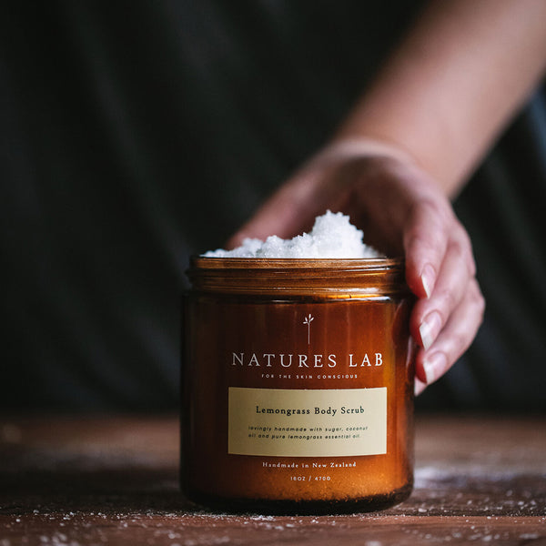 Natures Lab Lemongrass Body Scrub