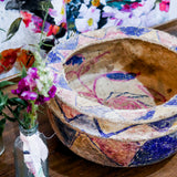 Vintage Indian Paper Mache Bowl | 05