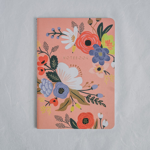 Rifle Paper Co. Notebook | Lively Floral Peach