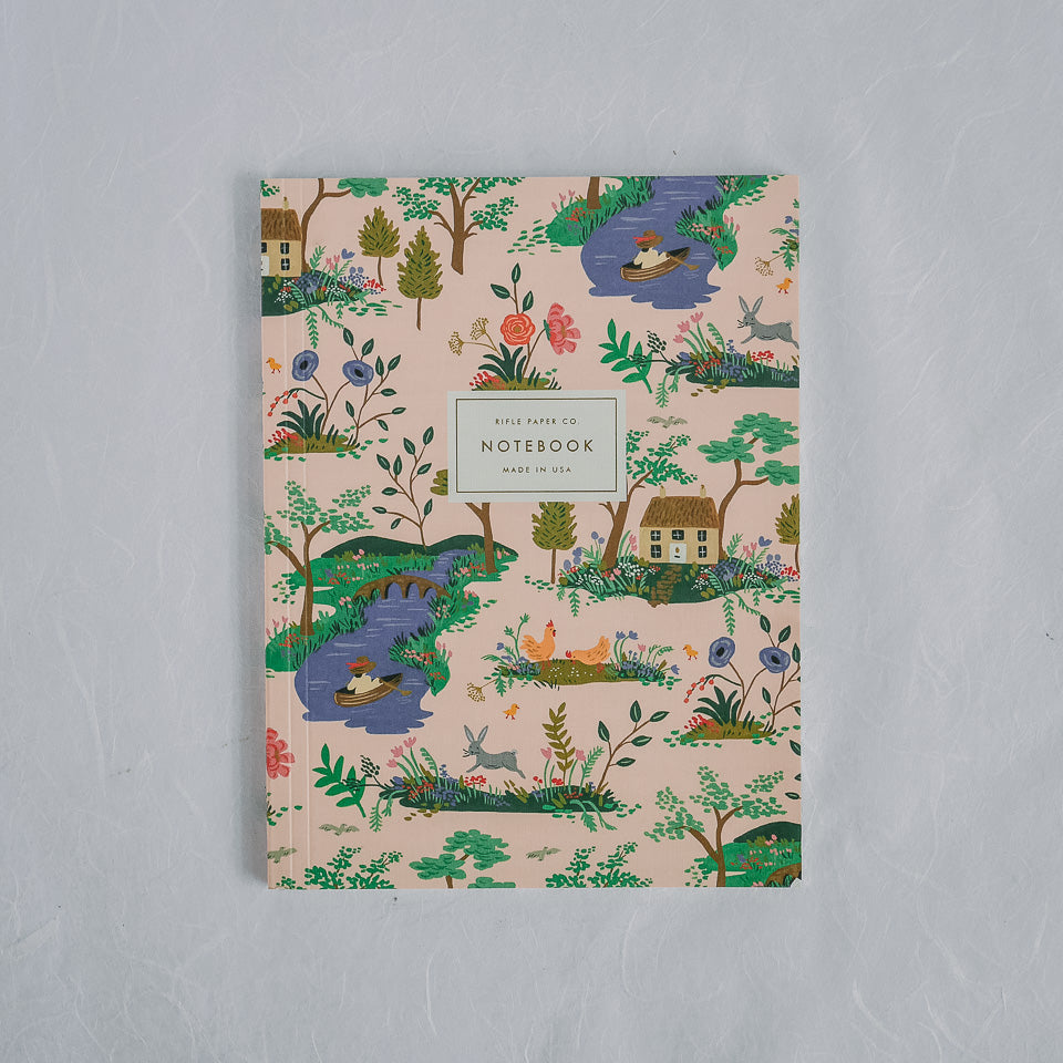 Rifle Paper Co. Notebook | Garden Toile Peach