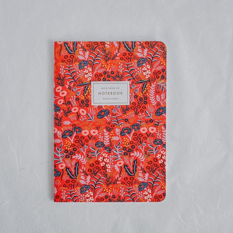 Rifle Paper Co. Notebook | Tapestry Vermillion