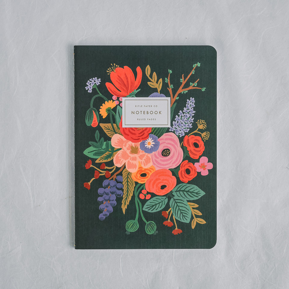 Rifle Paper Co. Notebook | Garden Party Black
