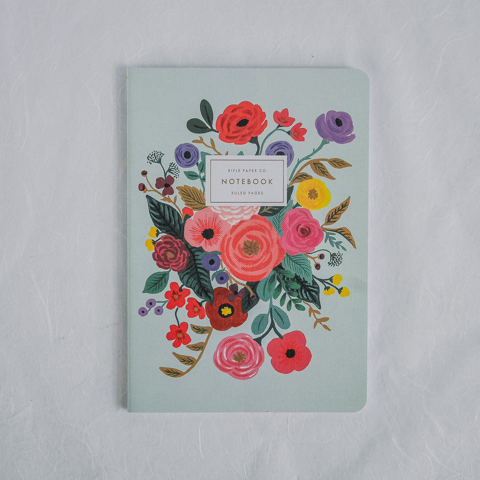 Rifle Paper Co. Notebook | Garden Party Aqua