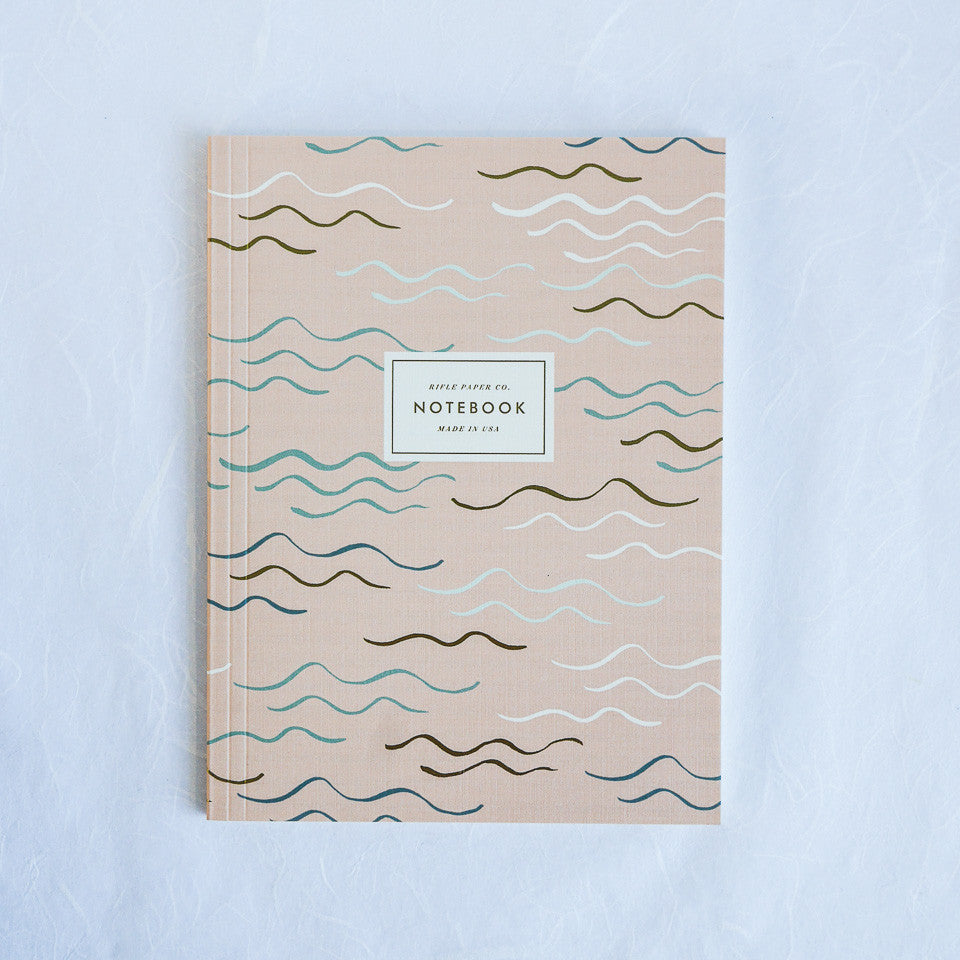 Rifle Paper Co. Notebook | Waves