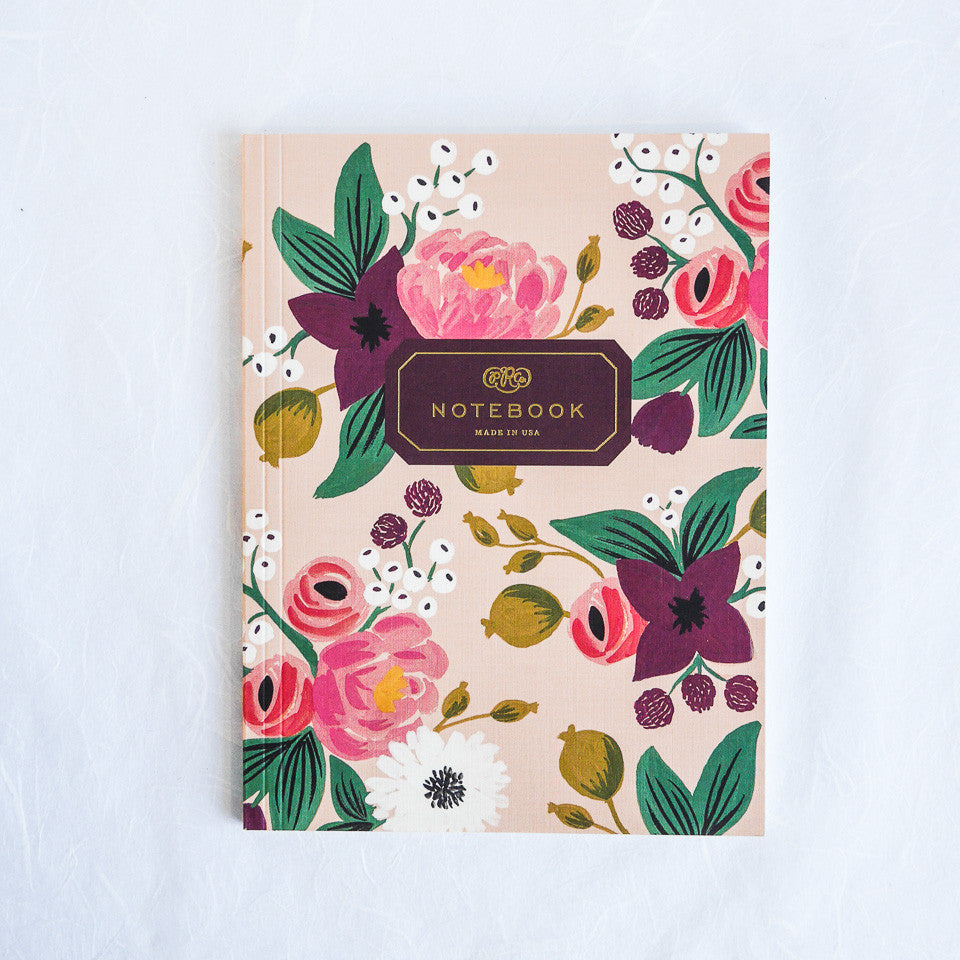 Rifle Paper Co. Notebook | Vintage Blossom Blush
