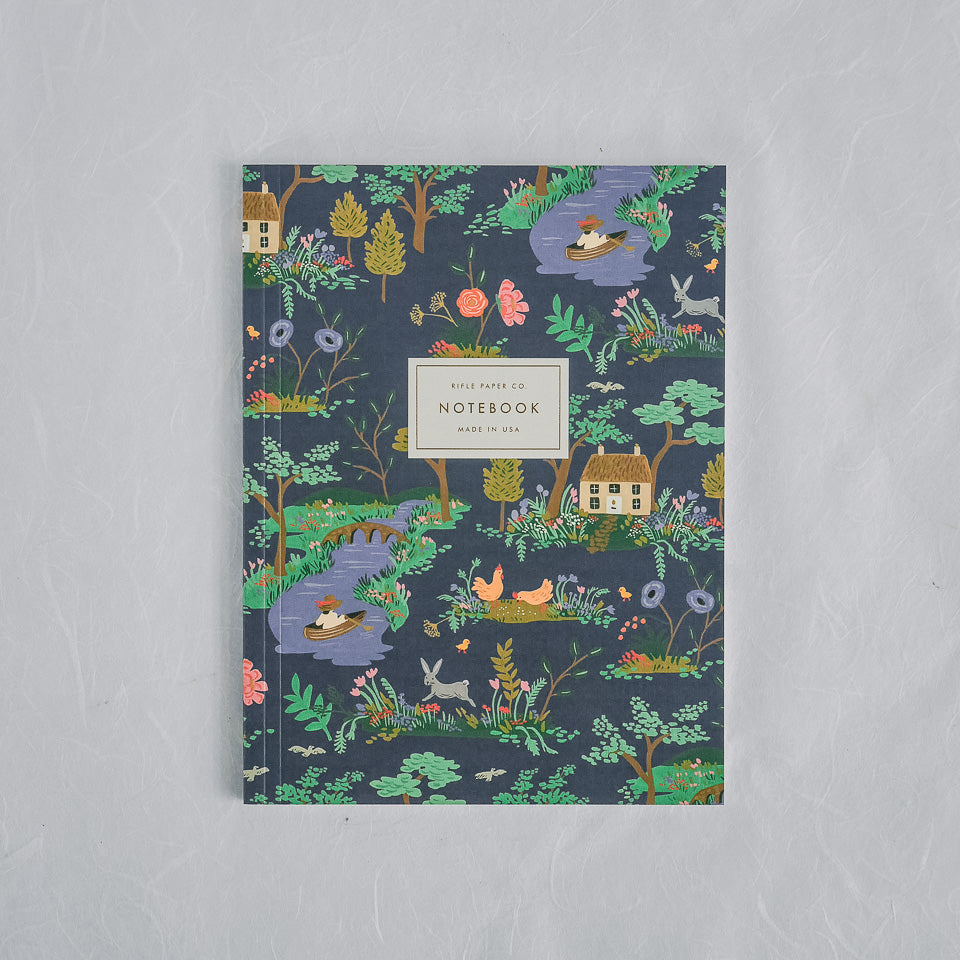 Rifle Paper Co. Notebook | Garden Toile Indigo
