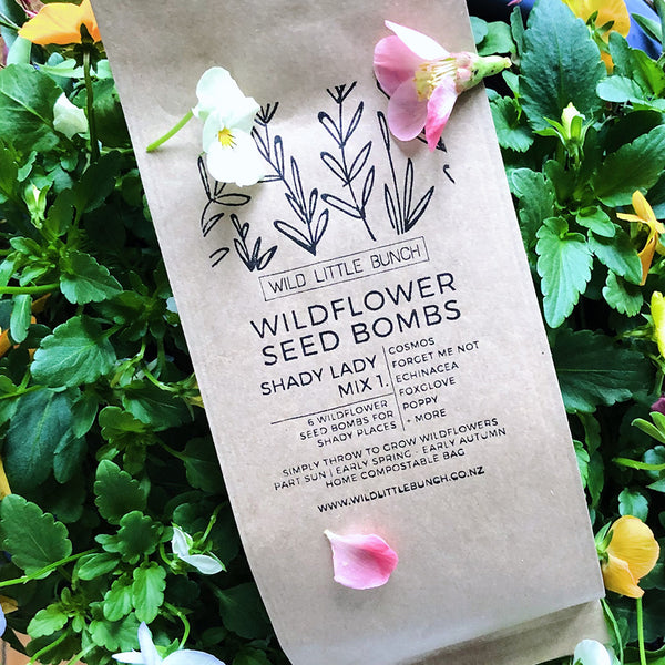 Wildflower Seed Bomb | Shady Lady