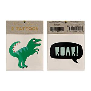 Meri Meri Temporary Tattoo ~ Dinosaur