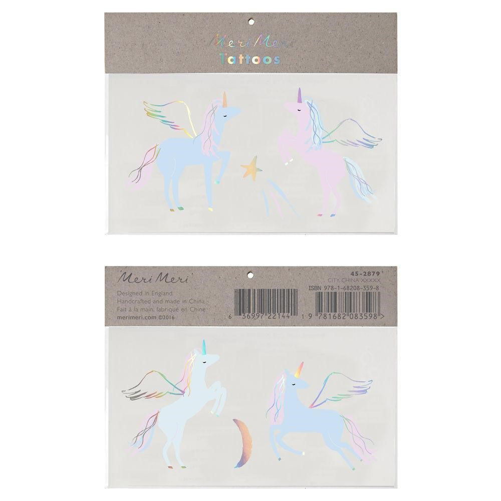 Meri Meri Temporary Tattoo ~ Unicorn