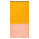 Castle Bath Towel | Peach