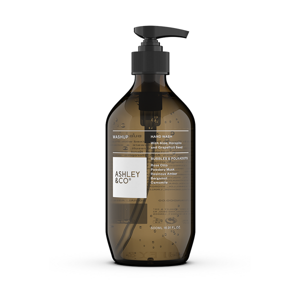 Ashley & Co WashUp Botanical Hand Wash | Bubbles & Polkadots