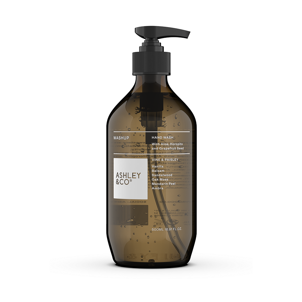 Ashley & Co WashUp Botanical Hand Wash | Vine & Paisley