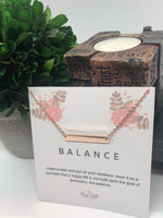 Balance Pendant Necklace