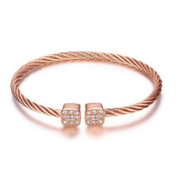 Twisted Rope Square Bracelet
