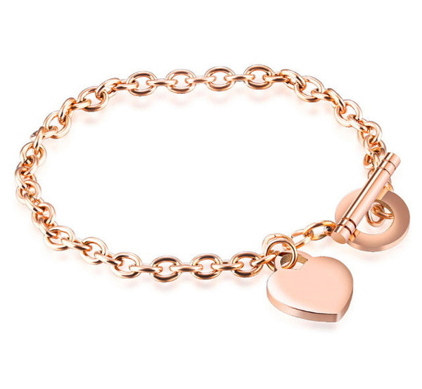 Toggle Clasp  Chain Bracelet