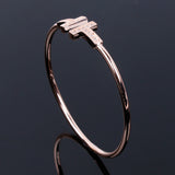 Rose Gold T Bangle