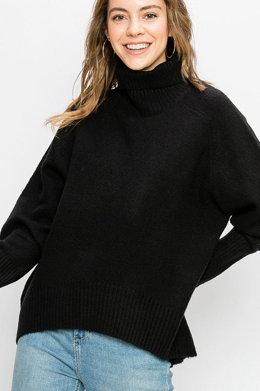 TOO GOOD Black Sweater