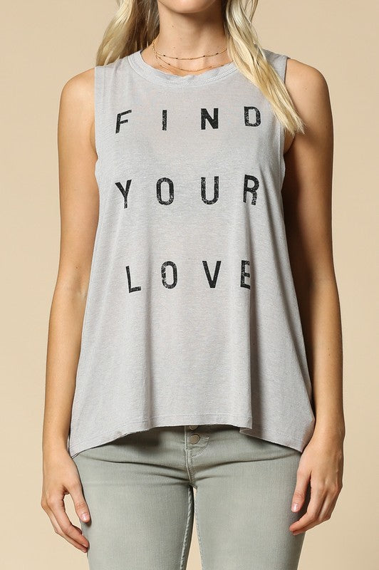 FIND YOUR LOVE Tank
