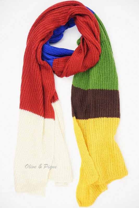 Dream Maker Multicolored Scarf