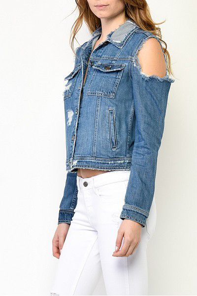 FOREVERMORE Cut-Out Jacket