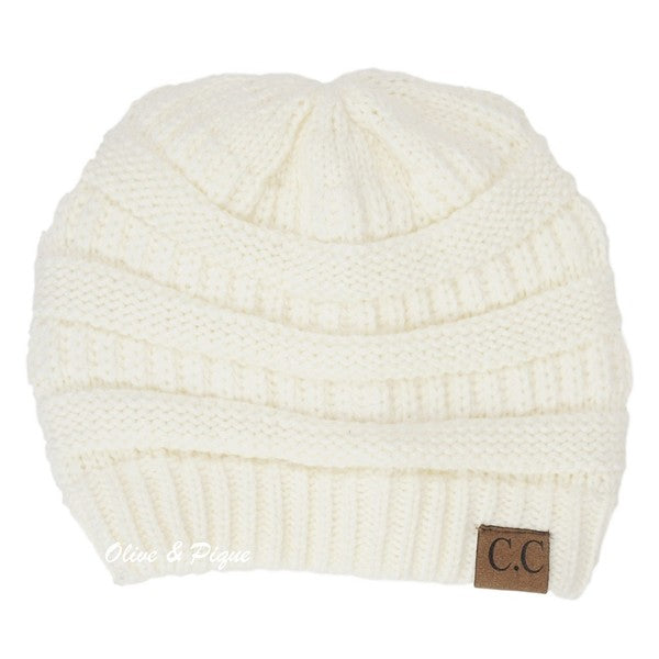 2f8390eefaa Ivory CC Beanie – Root   Flowers Boutique