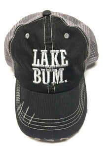 LAKE BUM. Trucker Hat