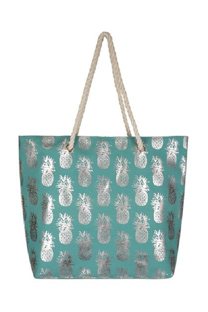 PINEAPPLE GLITTER Tote Bag