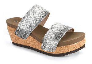 IS THIS LOVE Snakeskin Sandals