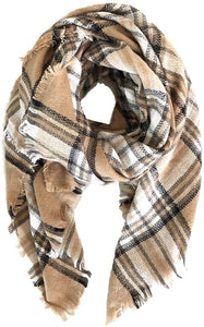Tis the Season Plaid Scarf