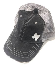 TX Embroidered Baseball Trucker Hat