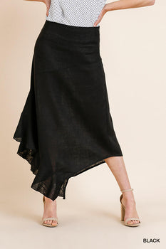 MAKE ME WANT TO Black Skirt