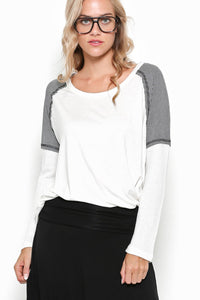 CONFIDENT Long-sleeve Top