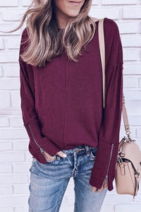 STRAWBERRY WINE Knit Sweater