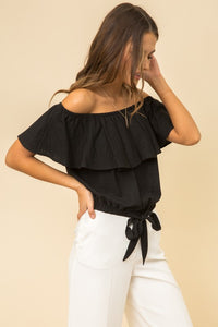 INTENTIONS Off-shoulder Top