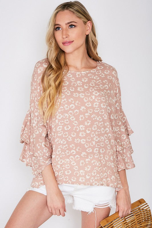 HAVE MERCY Blush Blouse