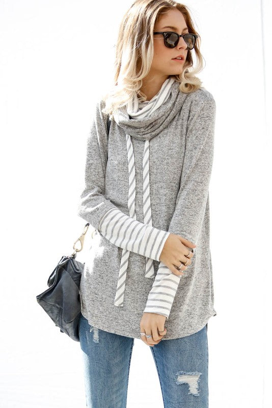 REACTION Mock-neck Sweatshirt