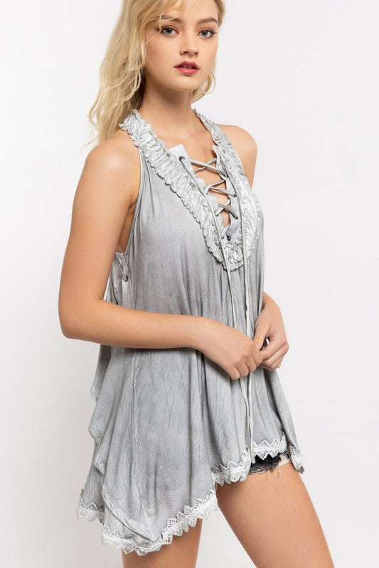 FAST AS YOU Tunic Tank