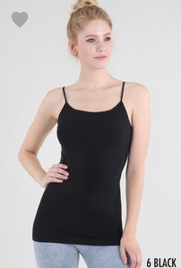 NIKIBIKI Black Long Tank