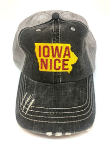 PRE-ORDER IOWA NICE (Red Lettering)