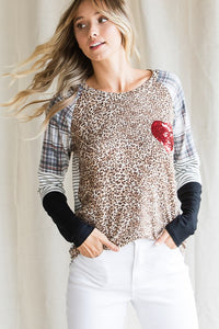 LOVE MAKES THE WORLD TURN Valentine Tunic Top