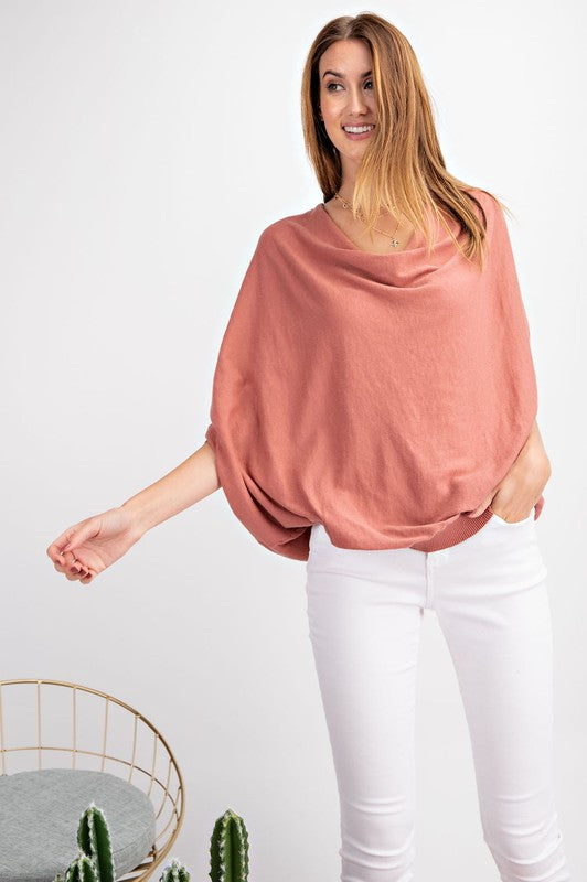 RISE UP Blush Sweater