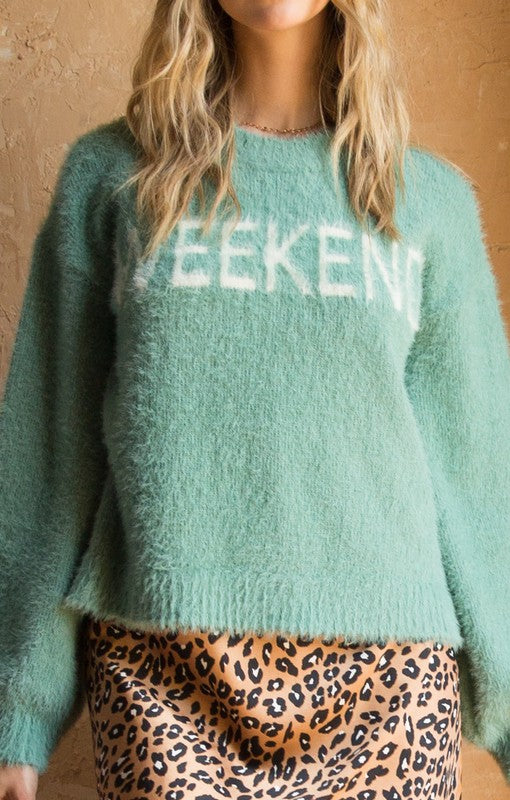7 DAY WEEKEND Sweater
