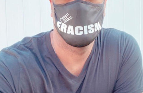 Social Justice Eracism Mask- Erase the Hate - Ultimate You