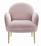 Petal Mauve Accent Chair