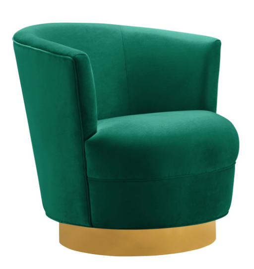 Swivel Green Chair