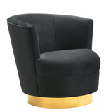 Swivel Black Chair