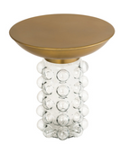 Bubble Glass Side Table