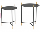 Set of 2 Accent Table