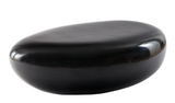 River Stone Coffee Table Gel Coat Black